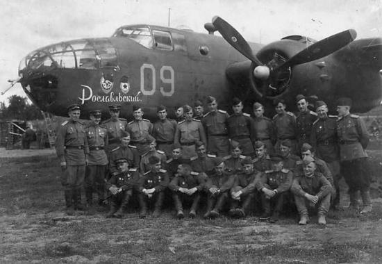 B25 Mitchell in VVS