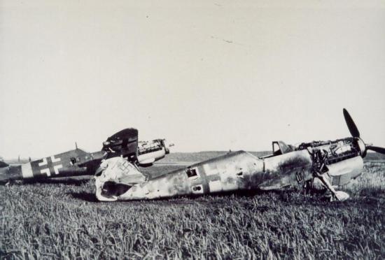 BF 109 dammaged