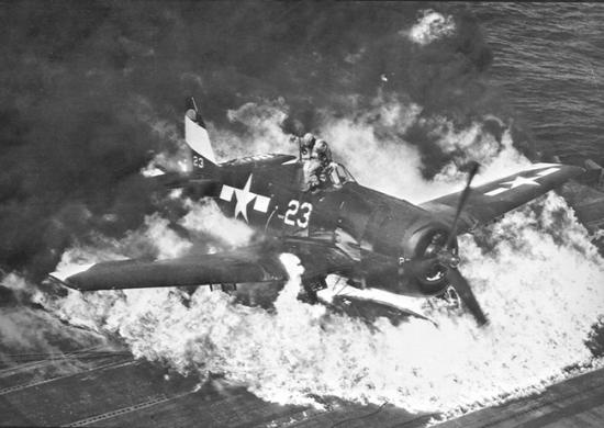 F6F crash