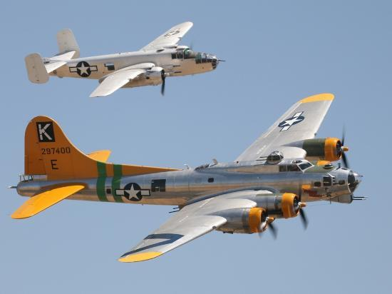 B17 Fortress - B25 Mitchell