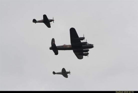 Hawker Hurricanes - Supermarine Spitfire - Avro Lancaster