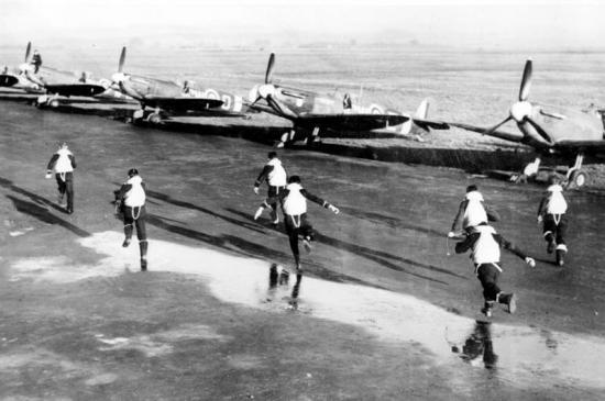 scramble RAF