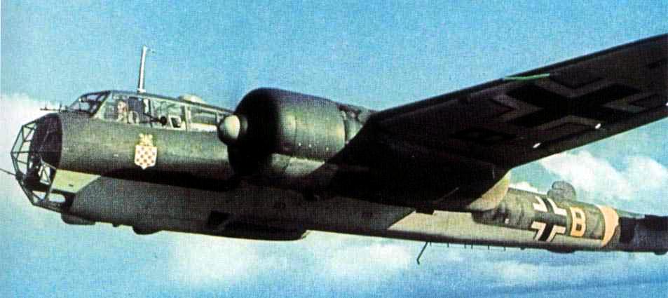 Dornier Do17 Bombardier Luftwaffe Ww2